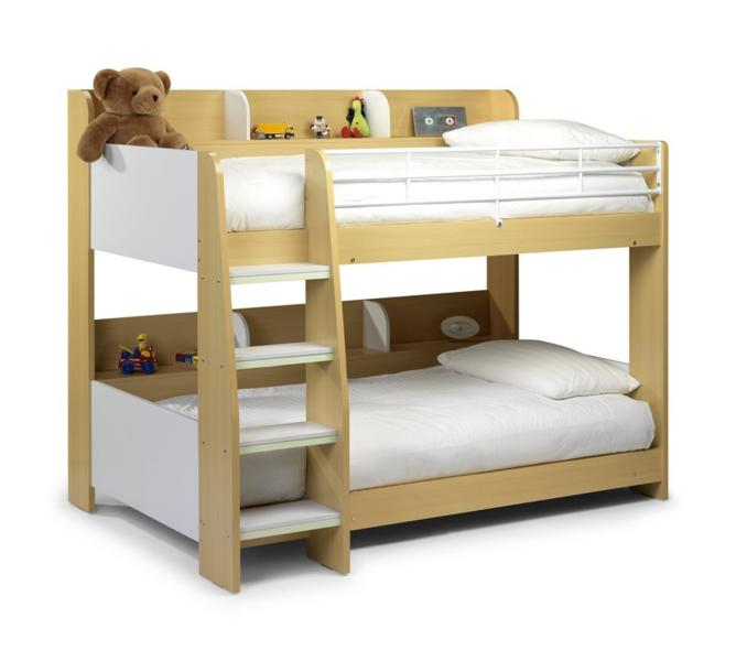 Julian Bowen Domino Bunk Bed In Maple £299